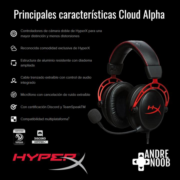 caracteristicas hyperx clouyd alpha copia
