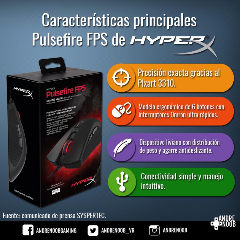 Hyperx firemouse FPS