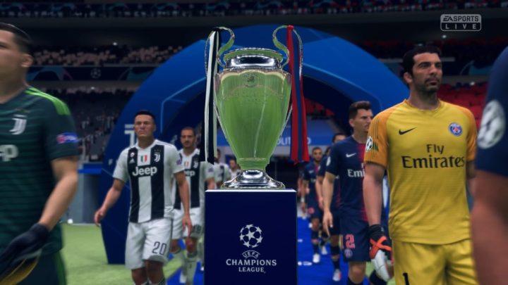 FIFA 19 Inicios 0-0 JUV - PSG, 1.er tiempo