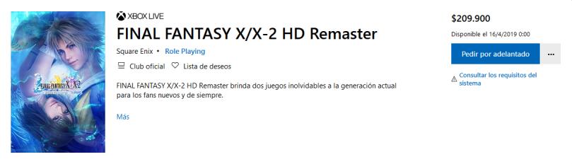 Screenshot_2019-02-25 Comprar FINAL FANTASY X X-2 HD Remaster Microsoft Store es-CO(1)