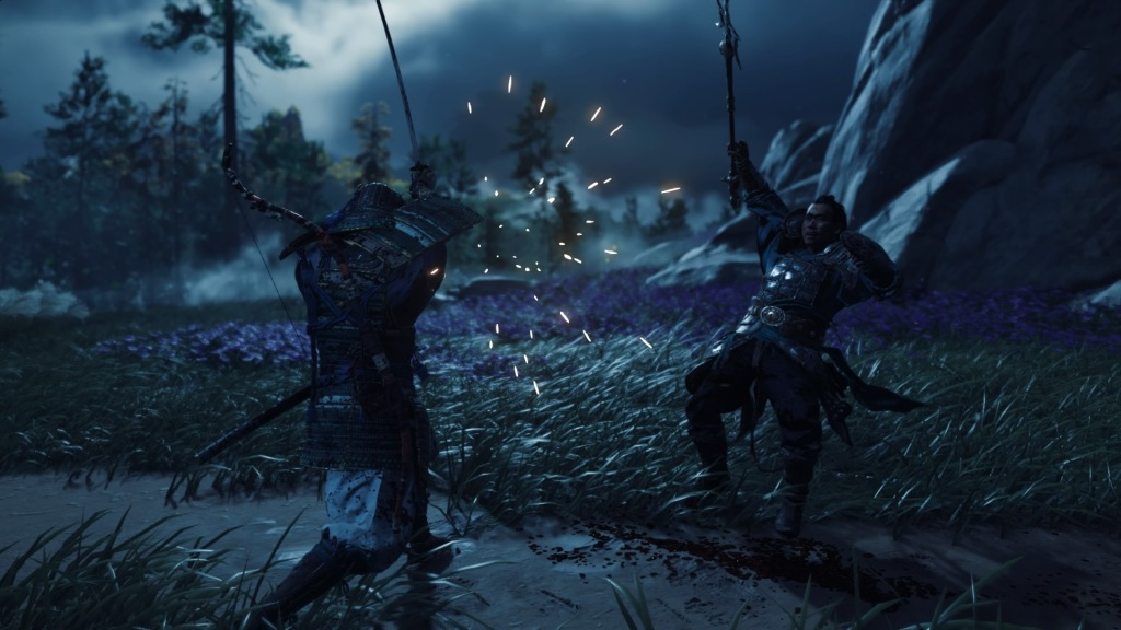 Ghost Of Tsushima combate
