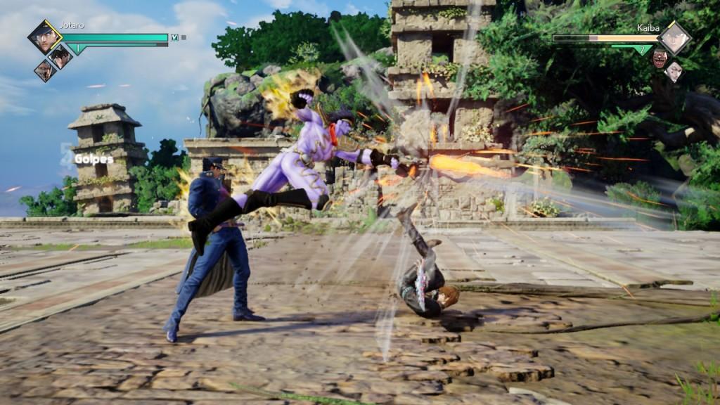 Jump Force y los movimientos de sus personajes