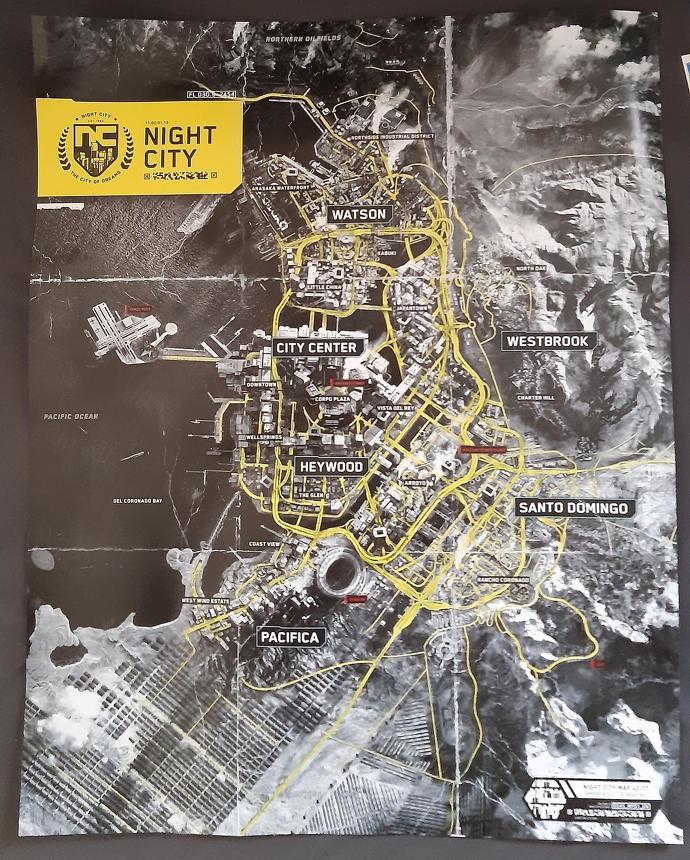 Night City, la ciudad de Cyberpunk 2077