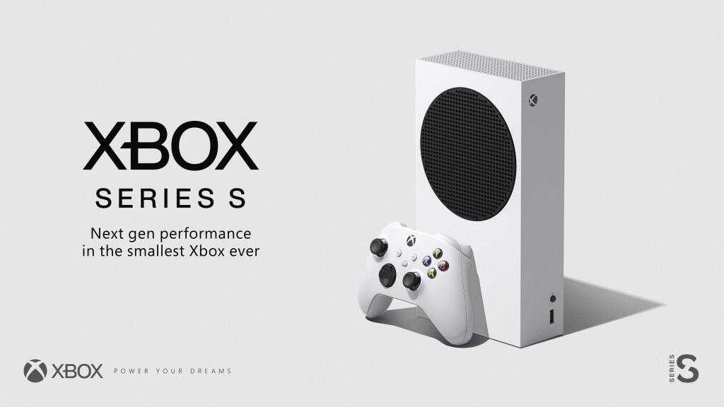 Xbox Series S en su presentación.