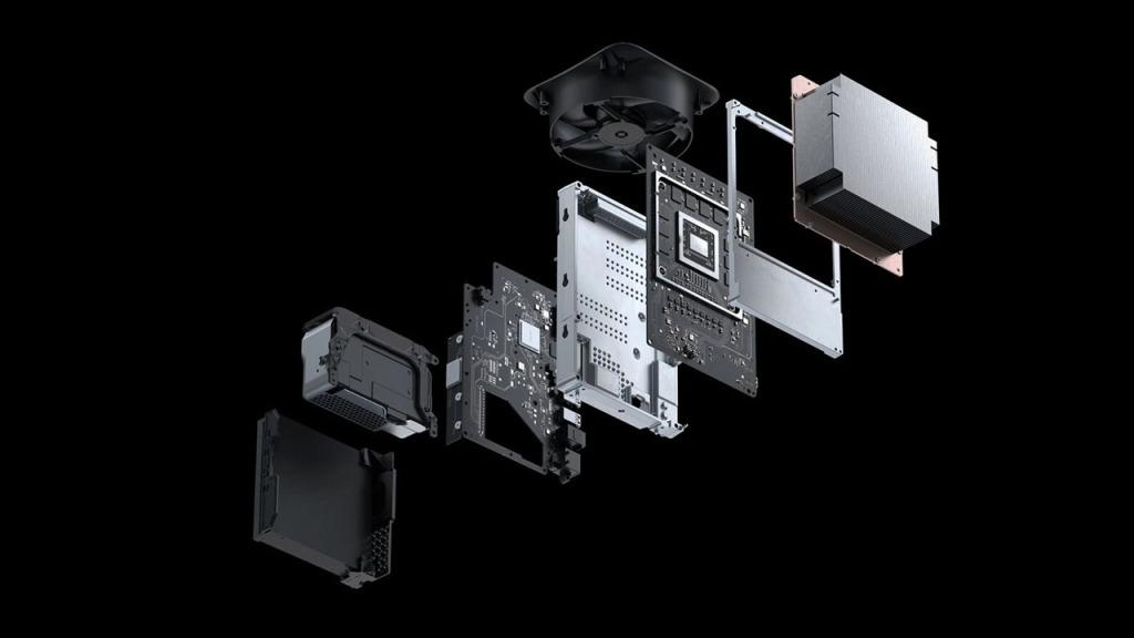 Xbox Series X por dentro