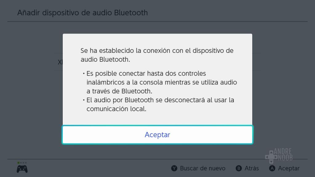 Dispositivo compatible con Switch.